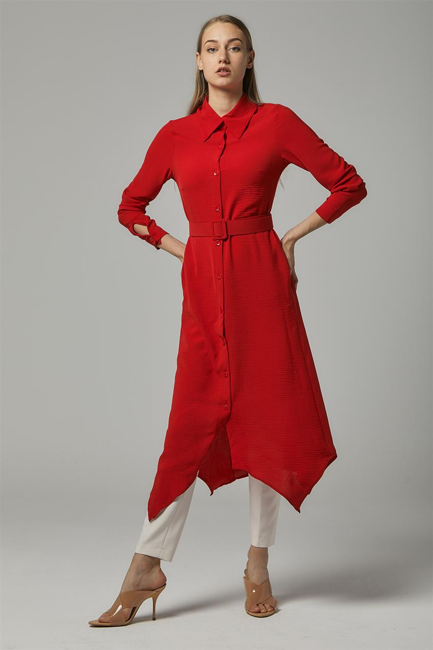 Tunic-Red 2570F-34 - 8