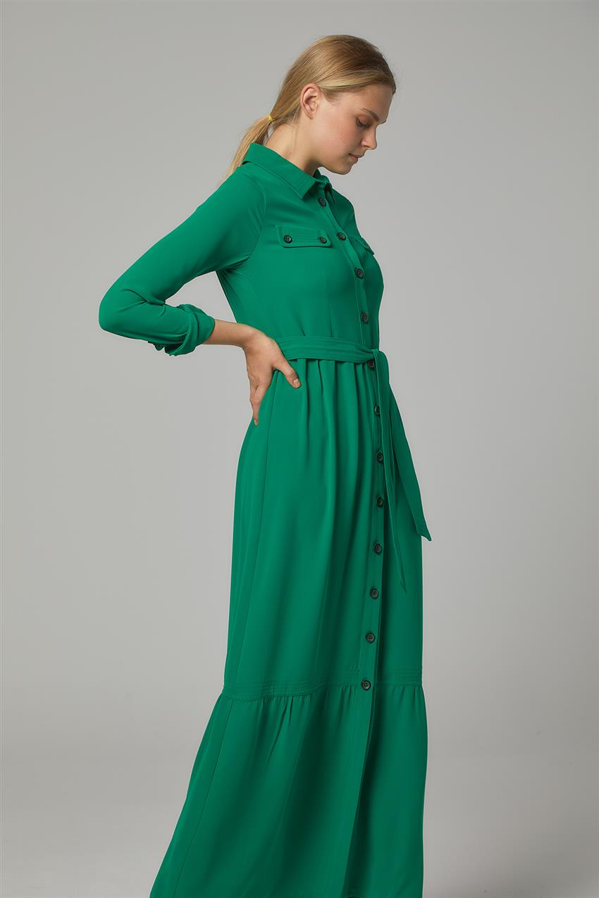 Dress-Light Green DO-B20-63009-30 - 9