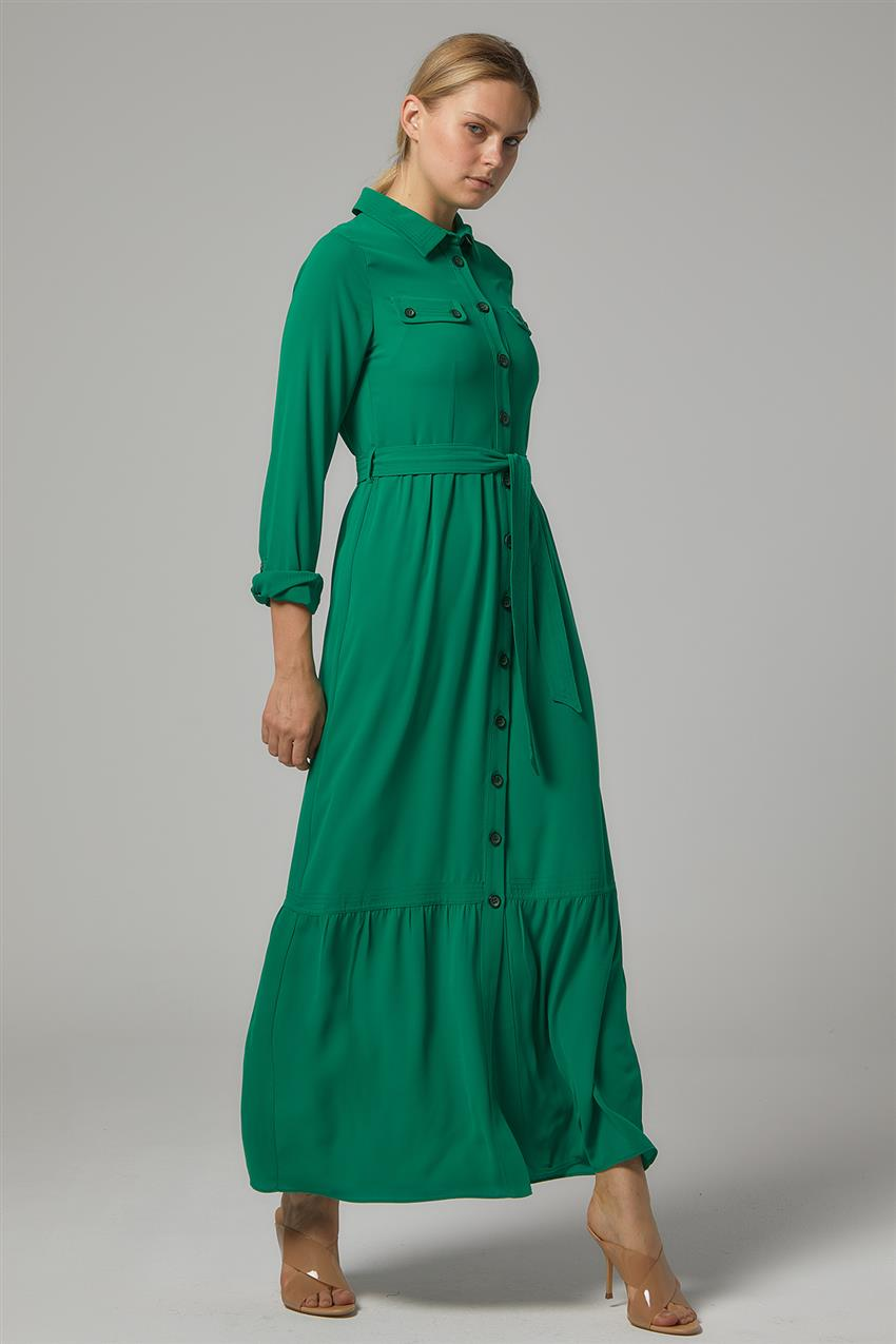 Dress-Light Green DO-B20-63009-30 - 7