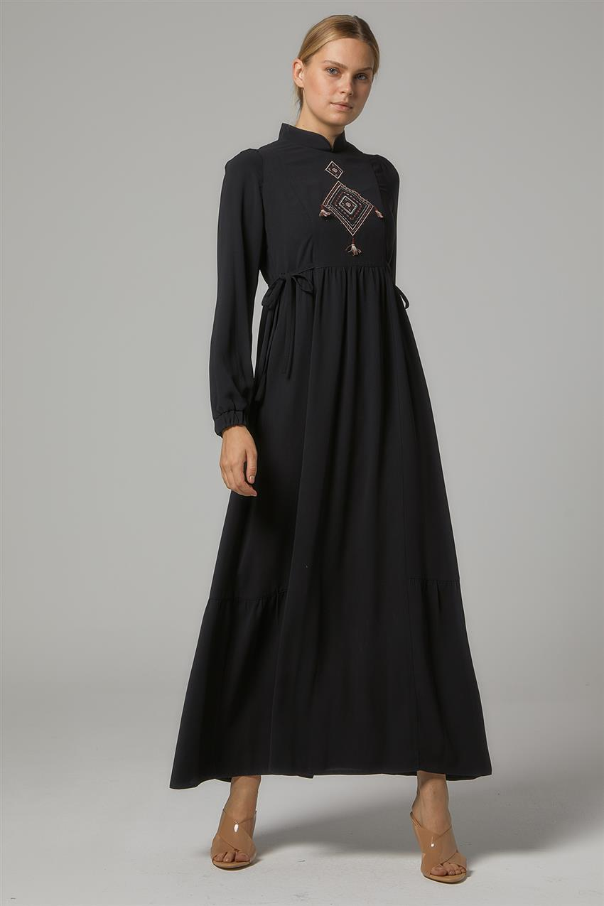 Dress-Black DO-B20-63016-12 - 7