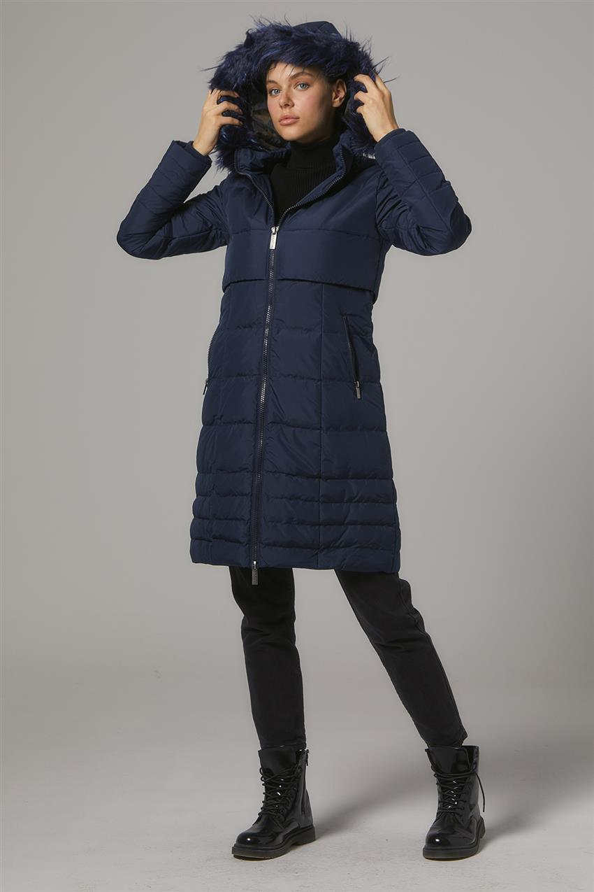 Coat-Navy Blue DO-A7-67006-11 - 16