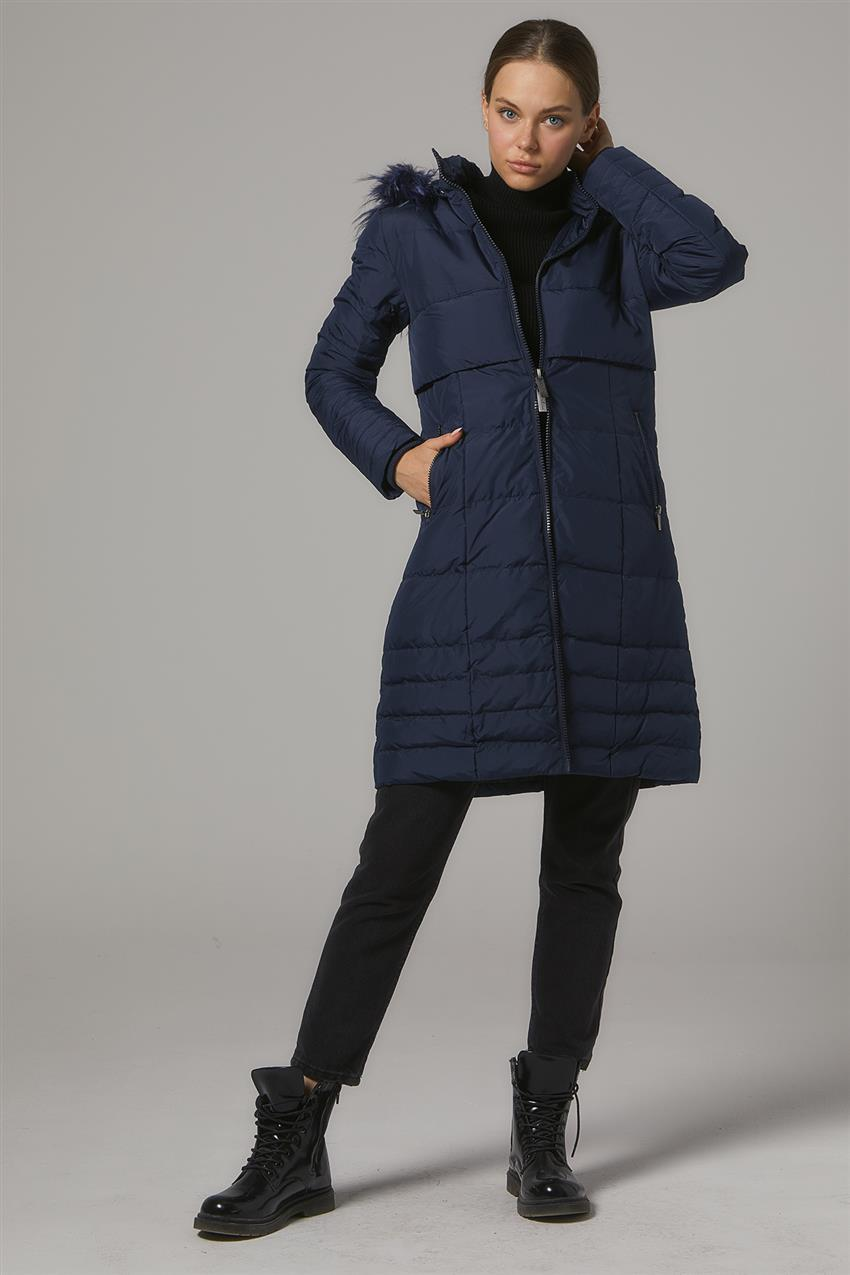 Coat-Navy Blue DO-A7-67006-11 - 13