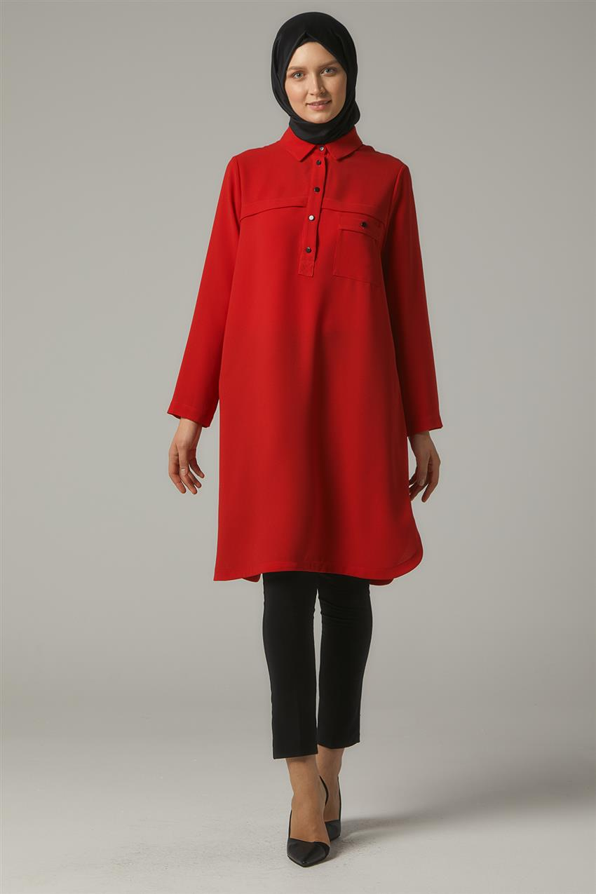 Tunic-Red DO-A9-61105-19 - 7