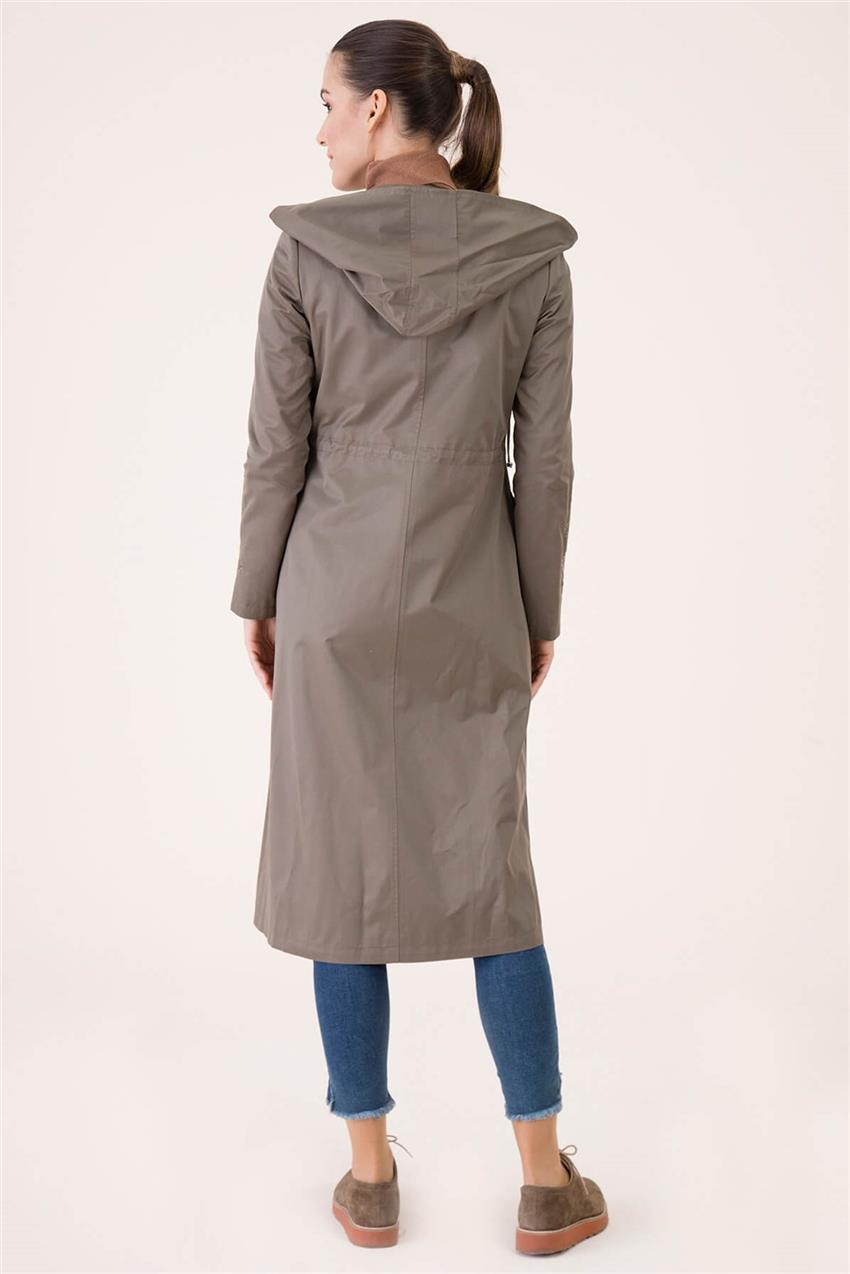 Khaki Trench Coat V18B6963 - 24