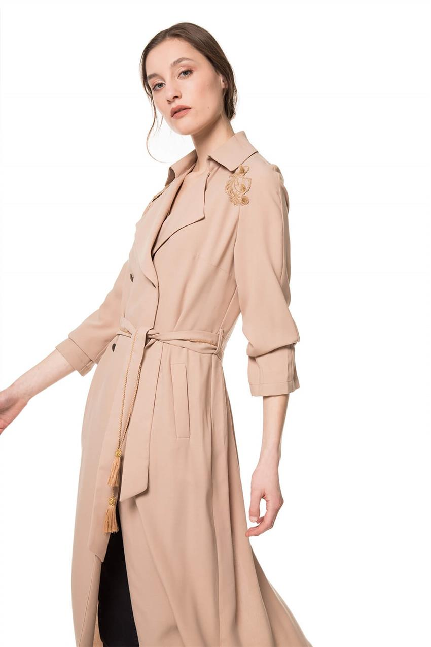 Beige Trench Coat V20YKAP26016 - 9