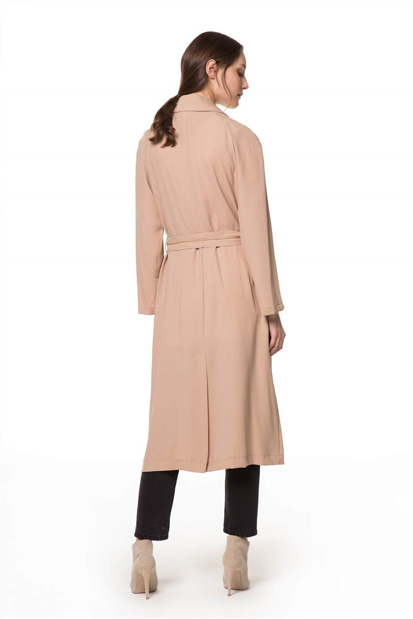 Beige Trench Coat V20YKAP26016 - 12