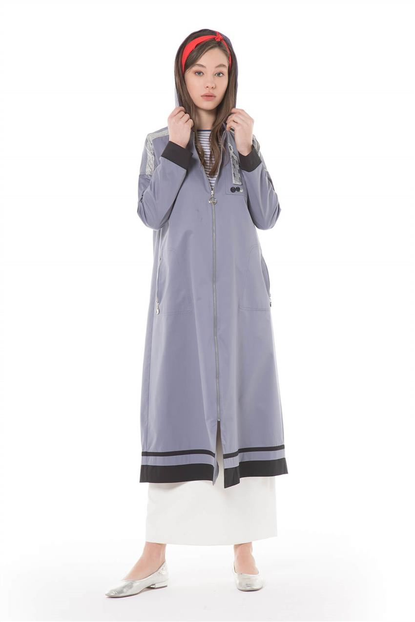 İndigo Trench Coat 720YTRN62022 - 7