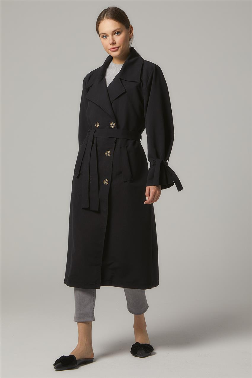 Trench Coat-Black PL-0W689-1 - 7