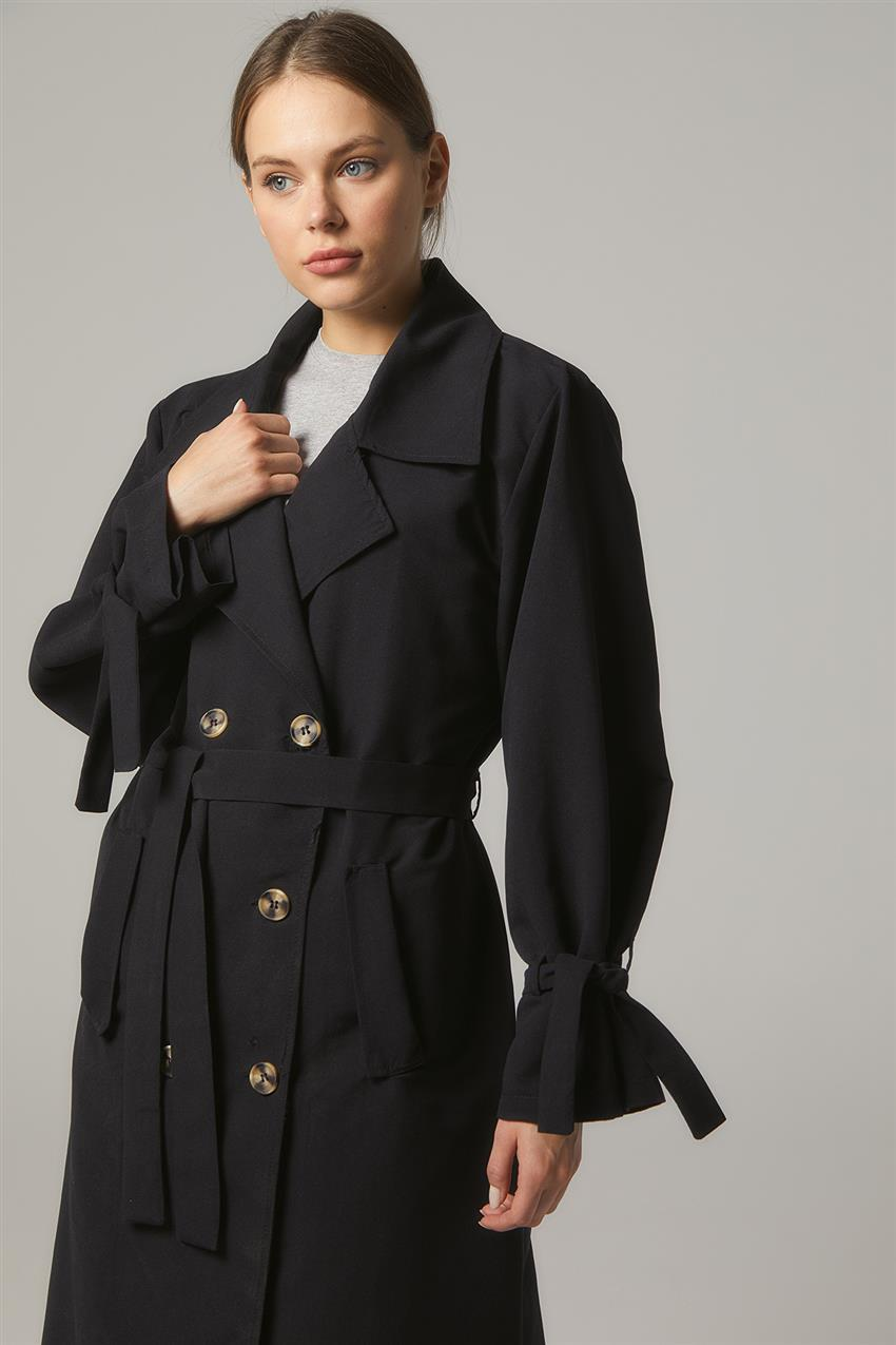 Trench Coat-Black PL-0W689-1 - 10
