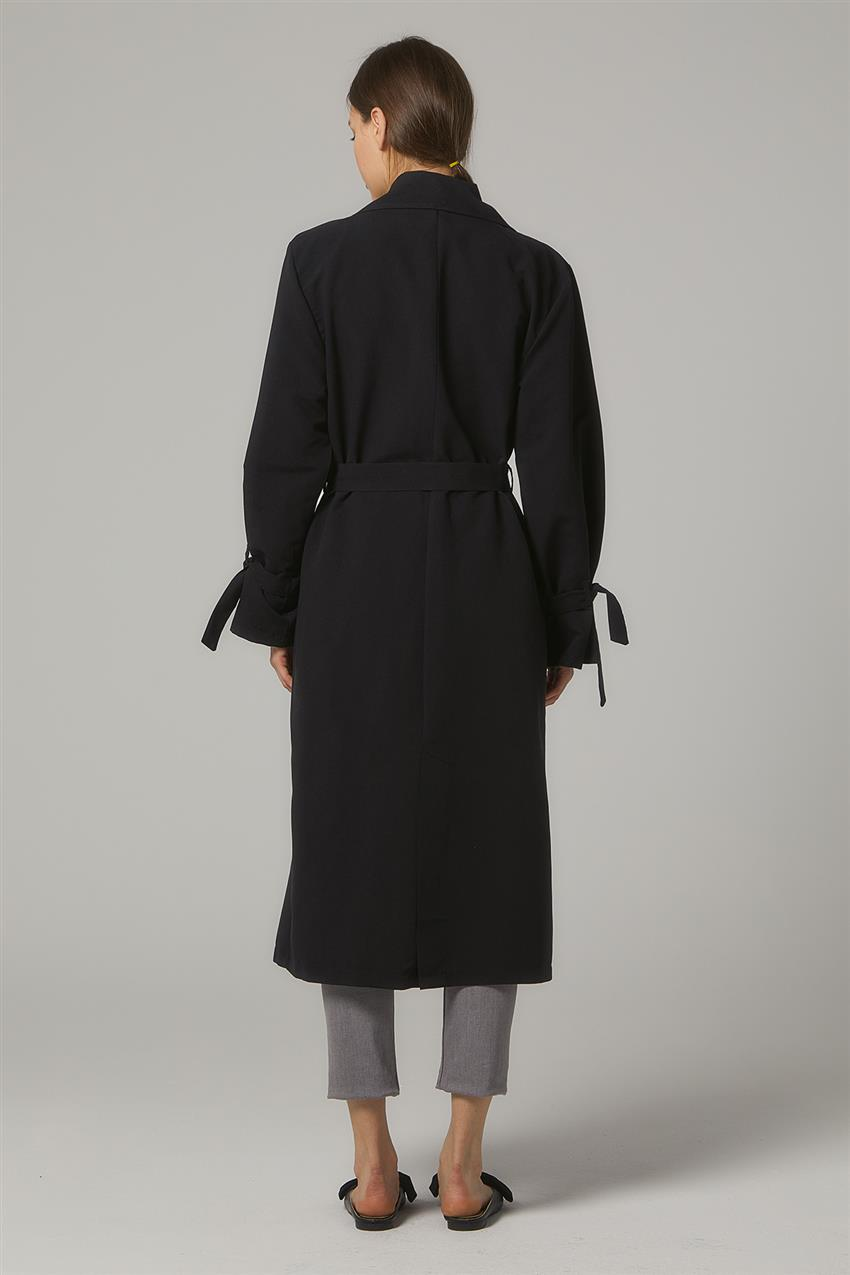 Trench Coat-Black PL-0W689-1 - 12