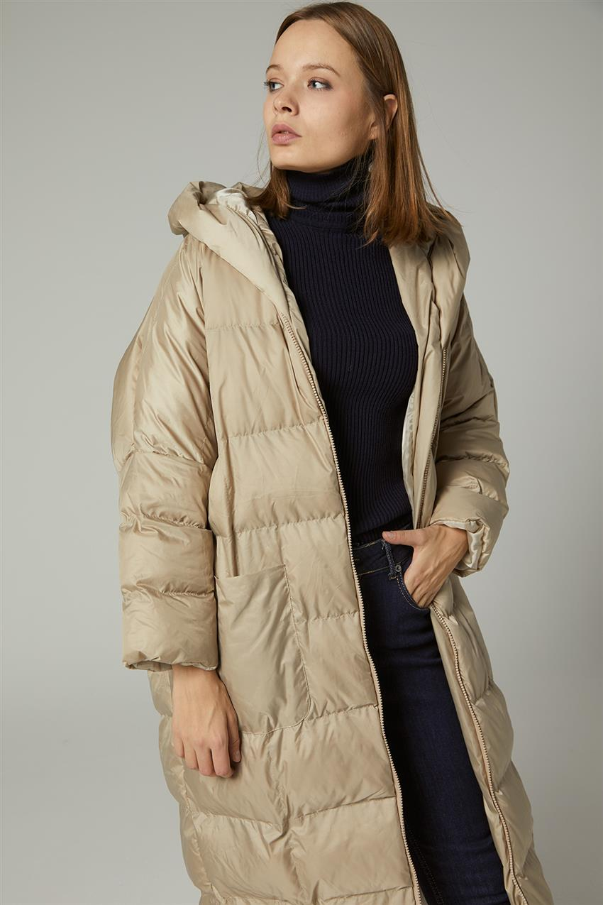 Coat-Beige MR-1453-8 - 10