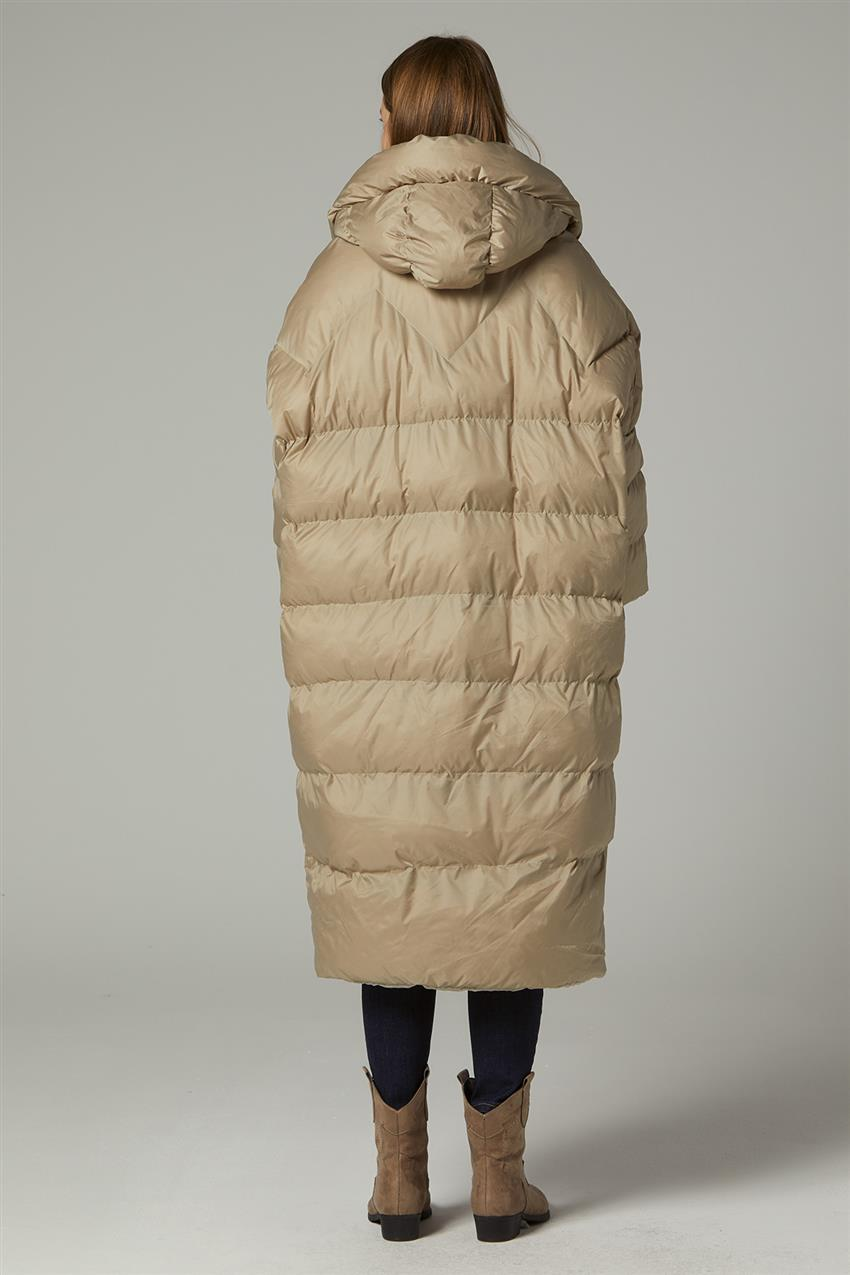 Coat-Beige MR-1453-8 - 12