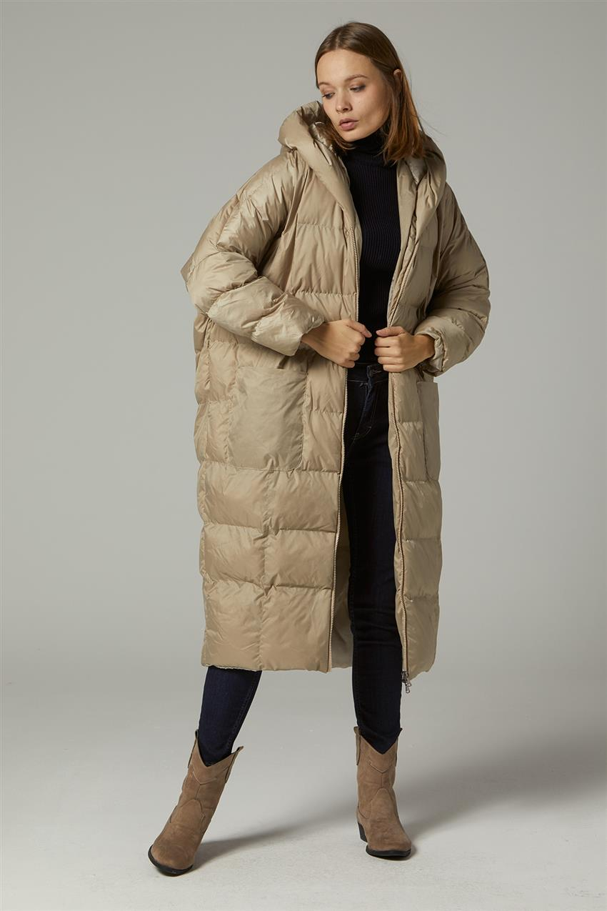 Coat-Beige MR-1453-8 - 8