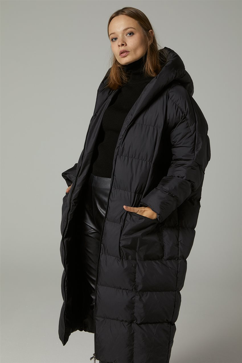 Coat-Black MR-1453-12 - 10