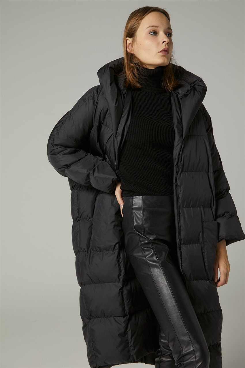 Coat-Black MR-1453-12 - 9