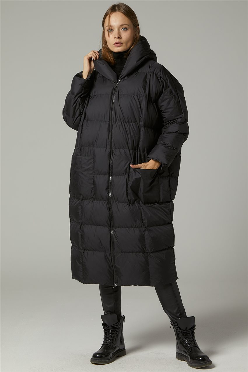 Coat-Black MR-1453-12 - 11