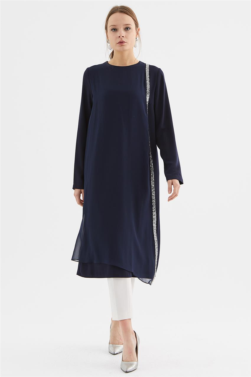 Tunic-Navy Blue V19KTNK45020-02 - 7