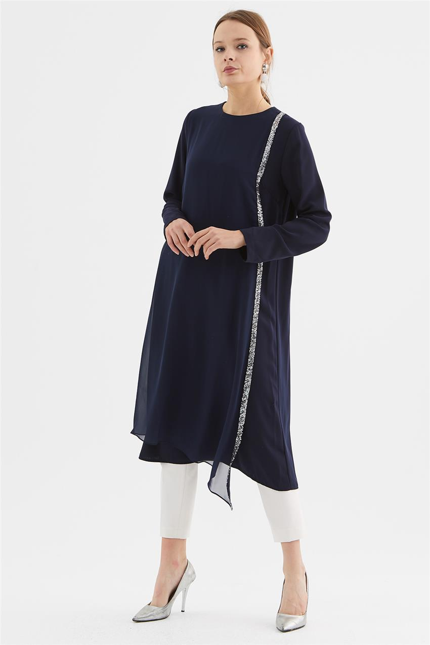 Tunic-Navy Blue V19KTNK45020-02 - 8
