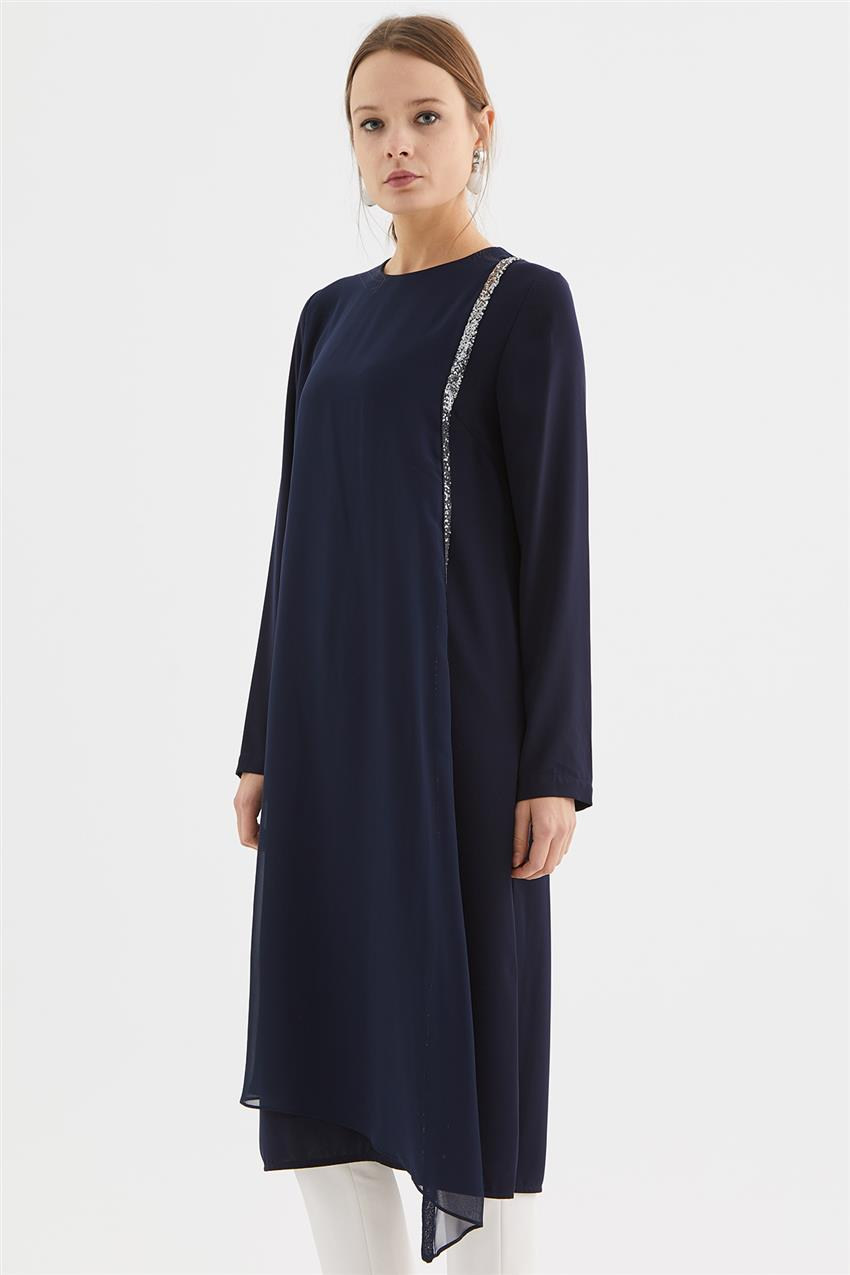 Tunic-Navy Blue V19KTNK45020-02 - 9