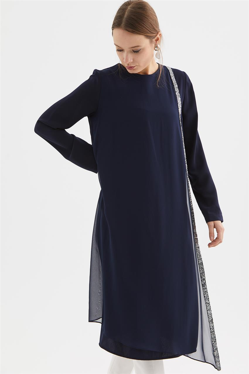 Tunic-Navy Blue V19KTNK45020-02 - 10
