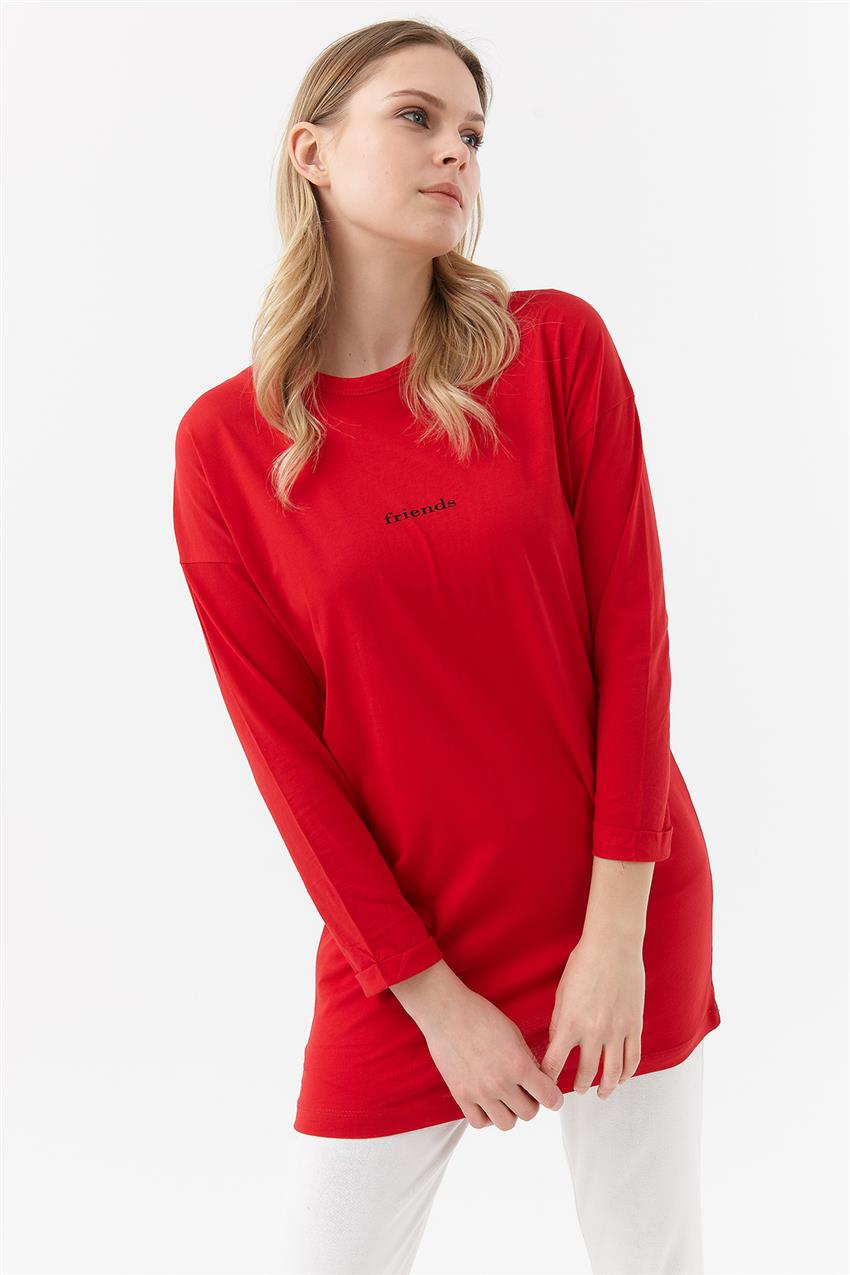 Tunic-Red UZ-1W0070-19 - 9