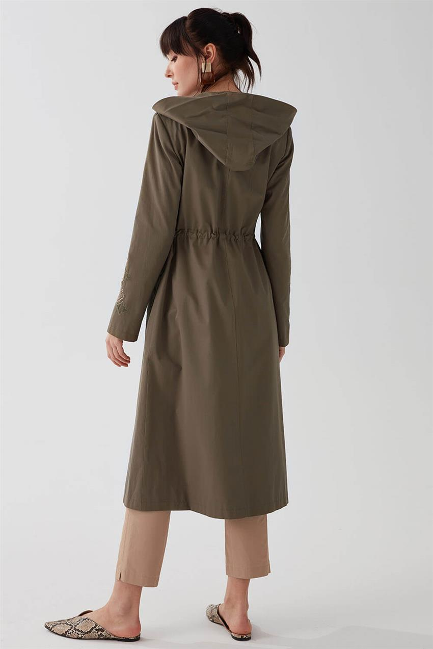 Khaki Trench Coat V18B6963 - 18