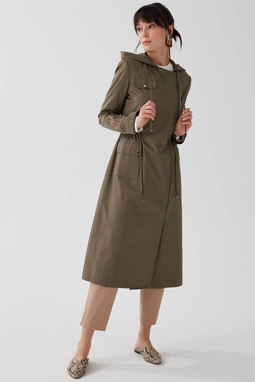 Khaki Trench Coat V18B6963 - 16