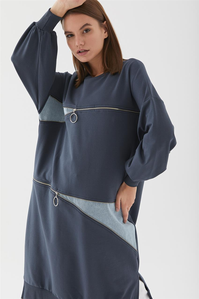 Tunic-Navy Blue 30609-17 - 10