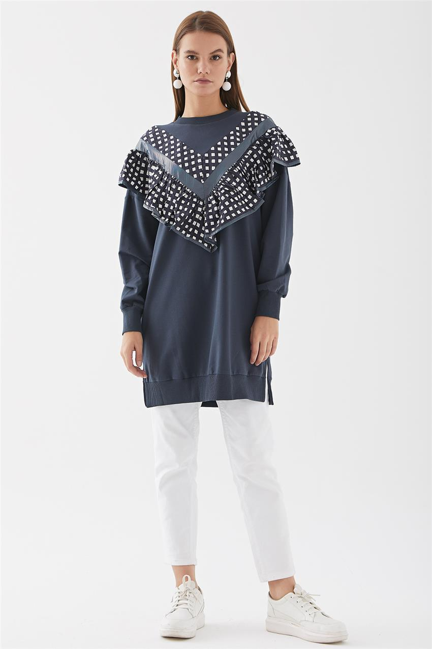 Tunic-Navy Blue 30621-17 - 7