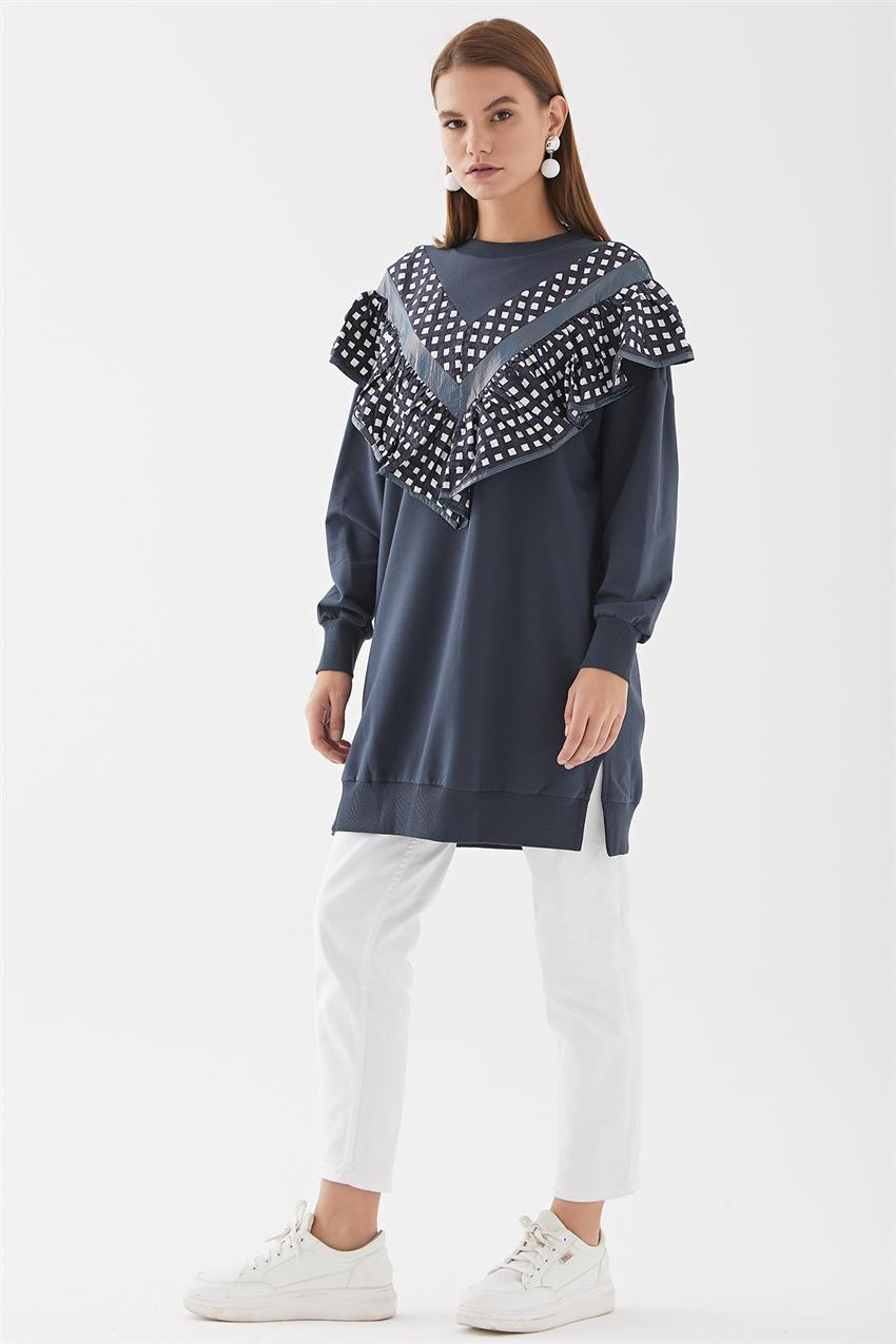 Tunic-Navy Blue 30621-17 - 8