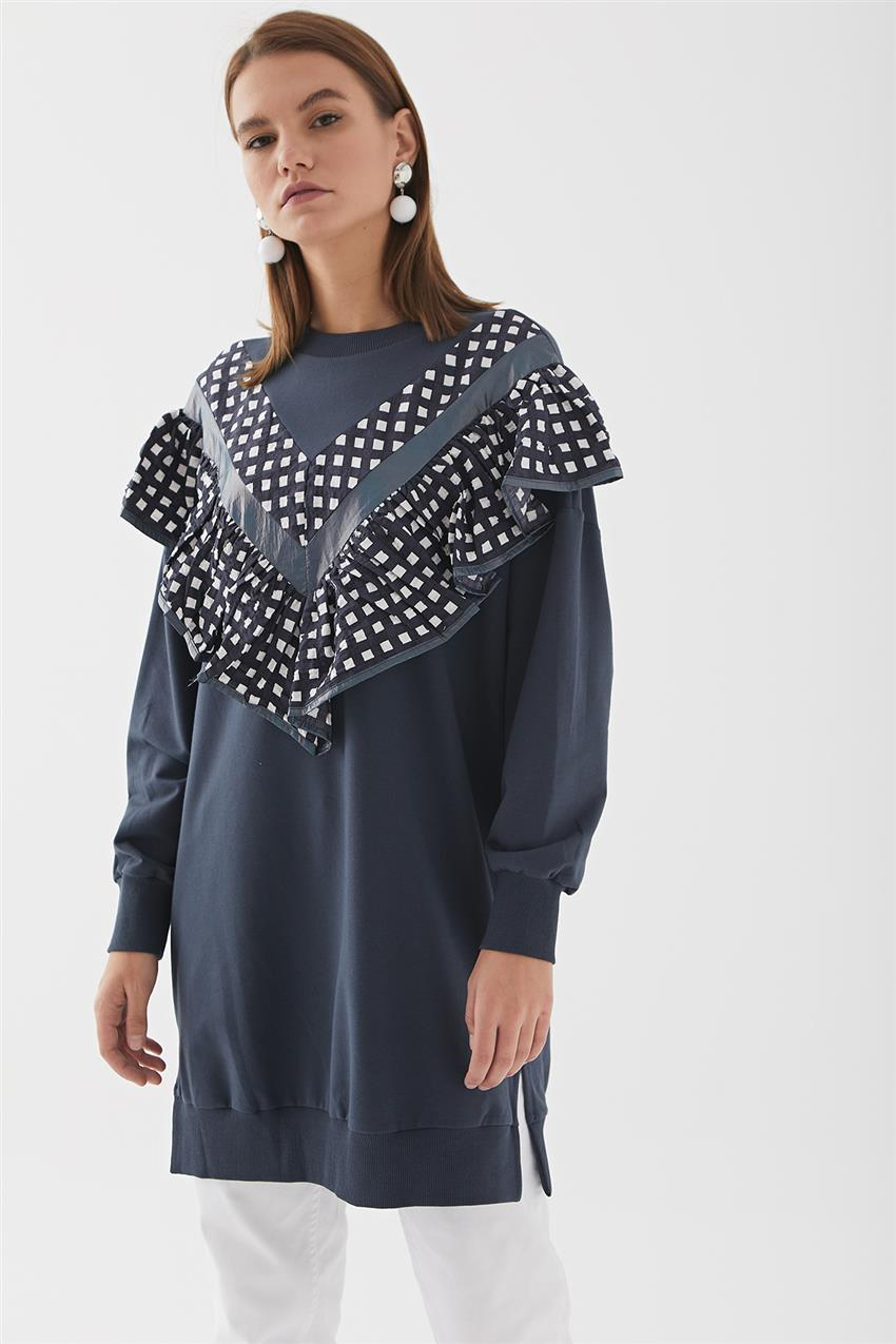 Tunic-Navy Blue 30621-17 - 10
